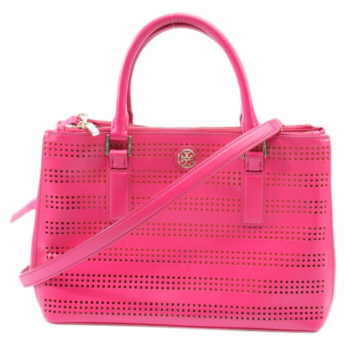 Tory Burch \N Handtasche in  Rot Leder
