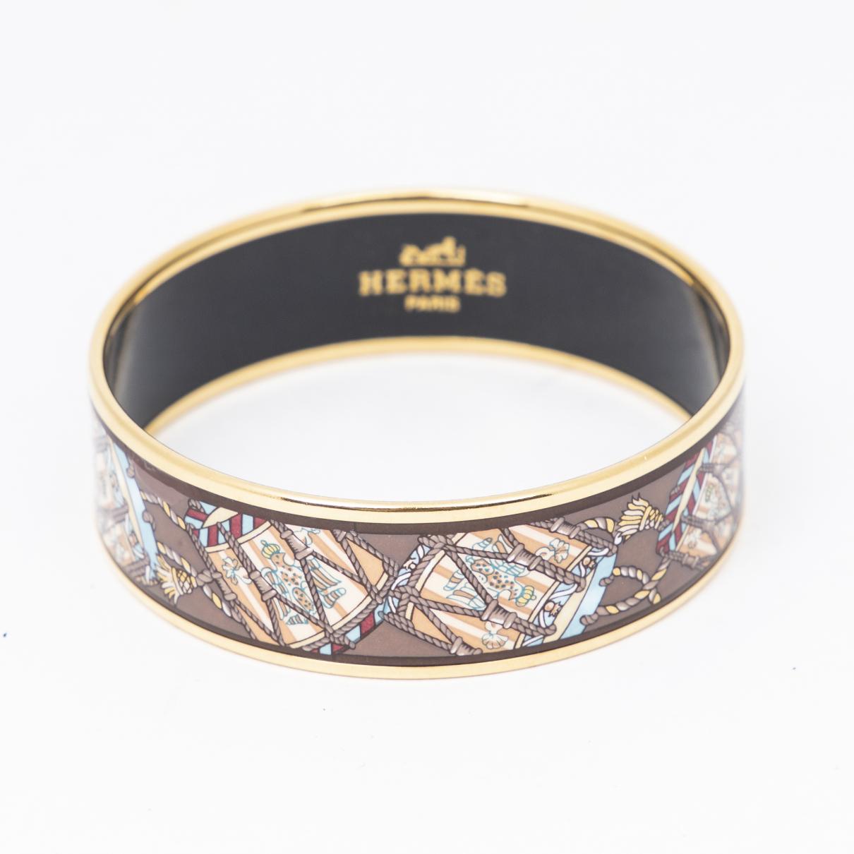 Hermes - Bracelet   pour femme en autre - marron