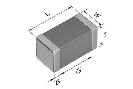 TDK 0603 (1608M) 6pF Multilayer Ceramic Capacitor MLCC 100V dc ±0.5pF SMD CGA3E2C0G2A060D080AA (4000)
