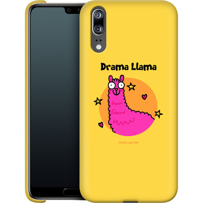 Huawei P20 Smartphone Huelle - Drama Lama von Flossy and Jim