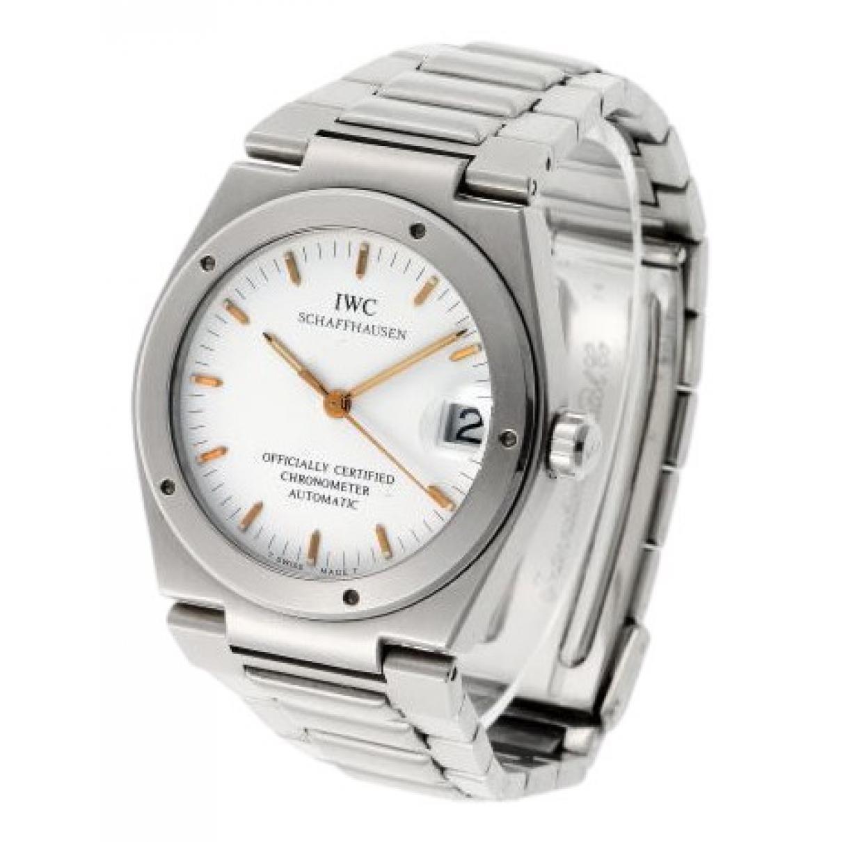 Iwc \N Uhr in  Silber Stahl