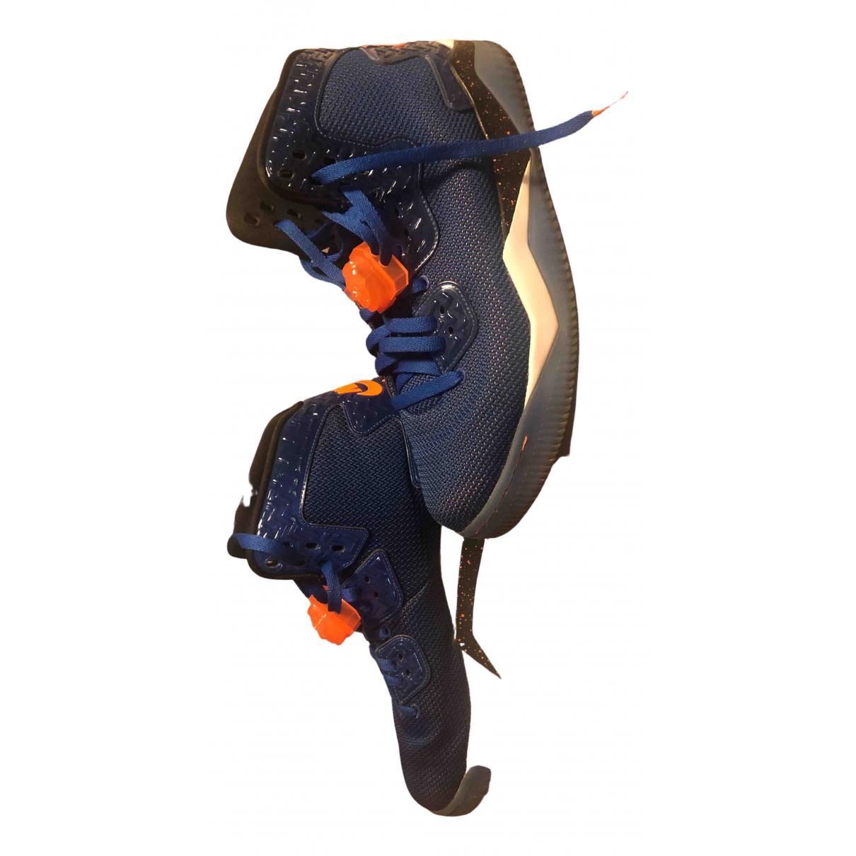 Jordan \N Sneakers in  Blau Polyester