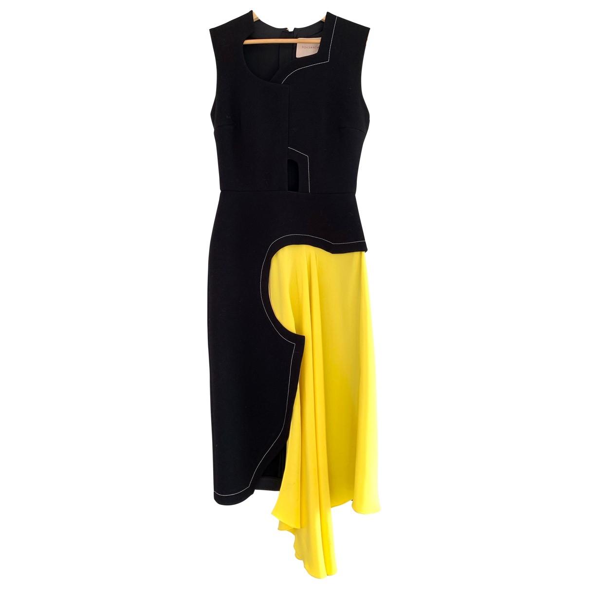 Roksanda \N Black Silk dress for Women 6 UK