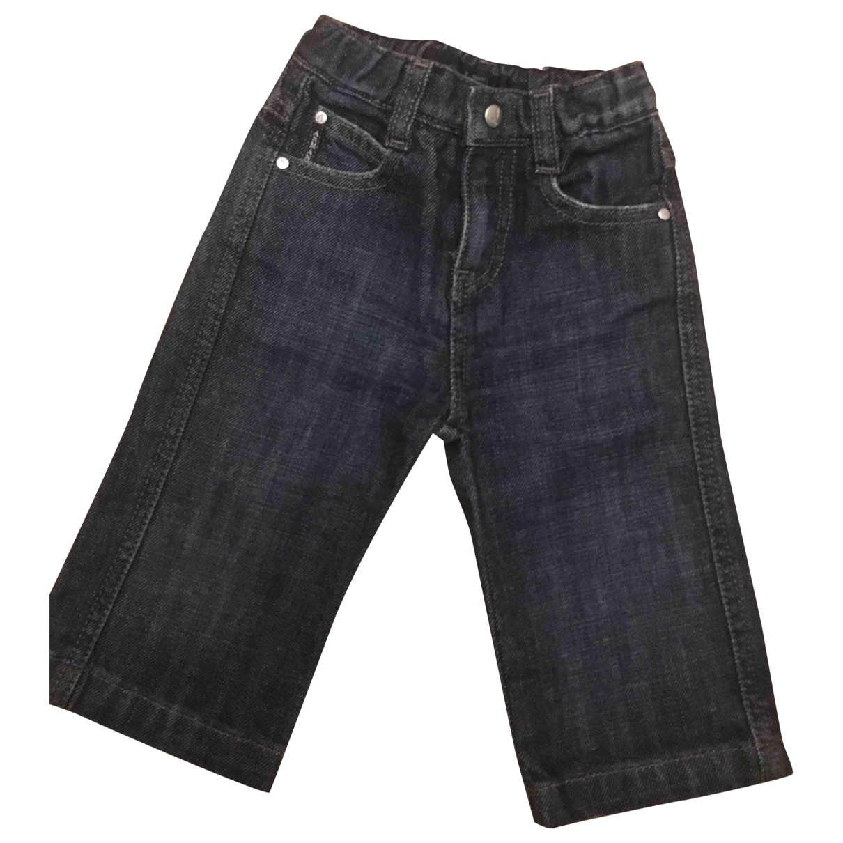 Armani Jeans \N Blue Denim - Jeans Trousers for Kids 9 months - up to 71cm FR
