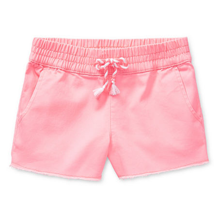 Arizona Little & Big Girls Pull-On Shortie Short, 6x , Pink