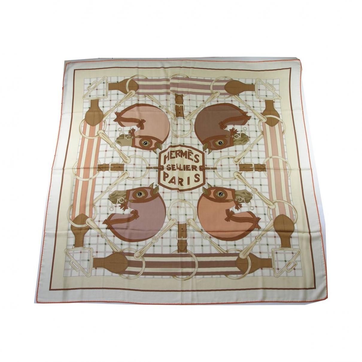 Hermès Carré 90 Multicolour Cashmere Silk handkerchief for Women \N