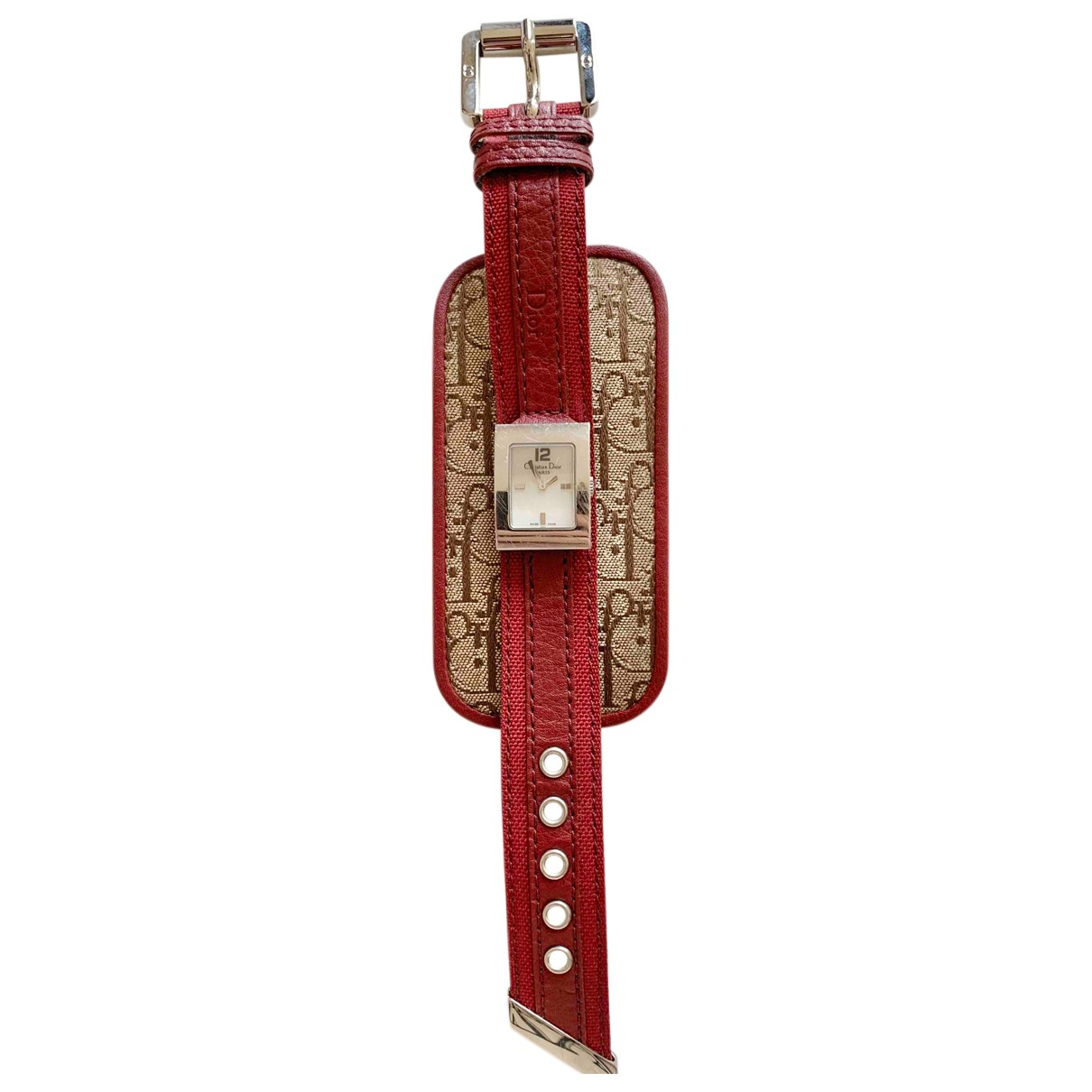 Dior Malice Uhr in  Silber Stahl