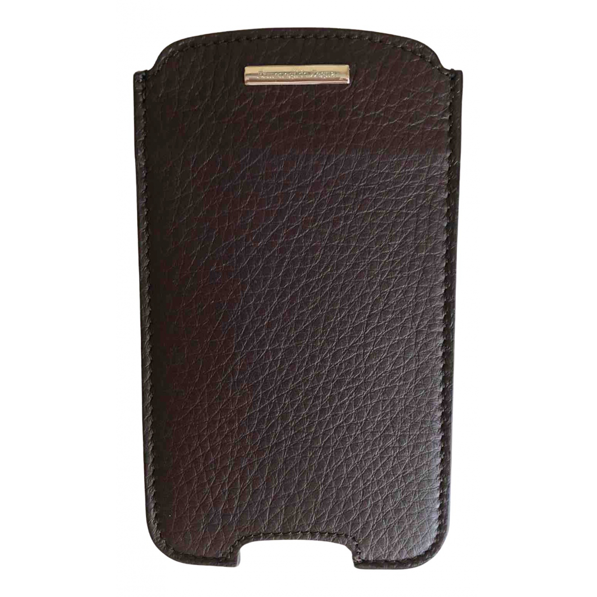 Ermenegildo Zegna \N Brown Leather Accessories for Life & Living \N