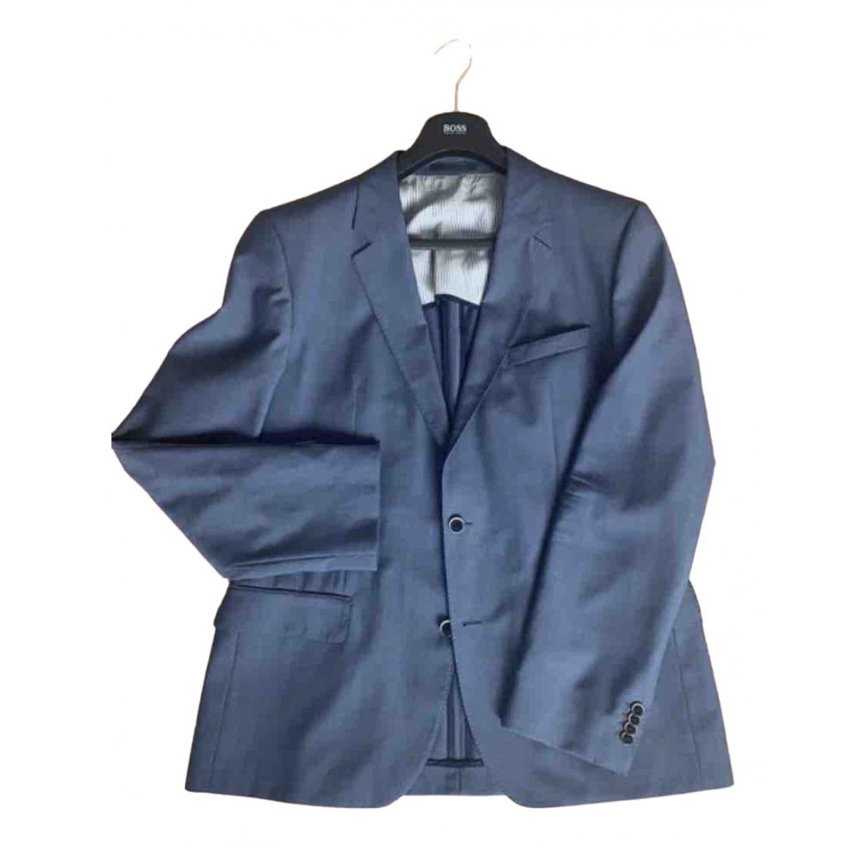 Boss - Costumes   pour homme en autre - bleu