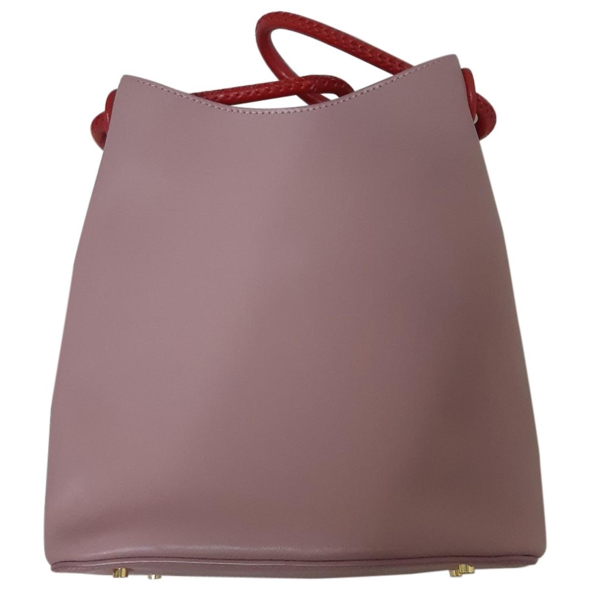 Elleme \N Handtasche in  Rosa Leder