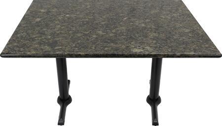 G203 30X42-B10-0522J 30x42 Uba Tuba Granite Tabletop with 5