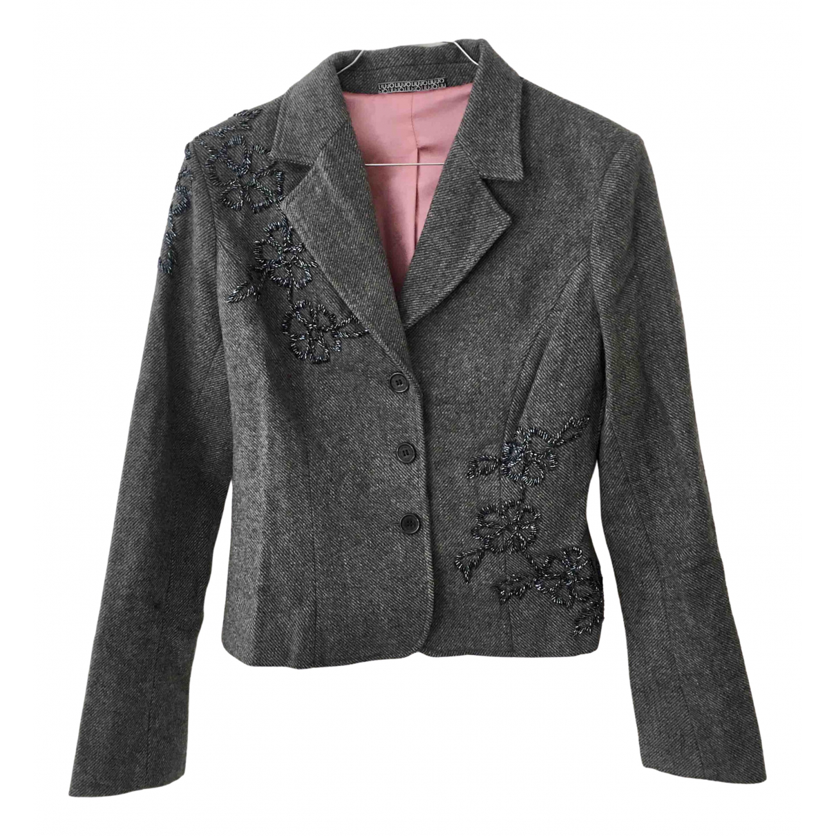 Liu.jo \N Grey Wool jacket for Women S International