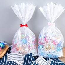 10pcs Clear Candy Packing Bag