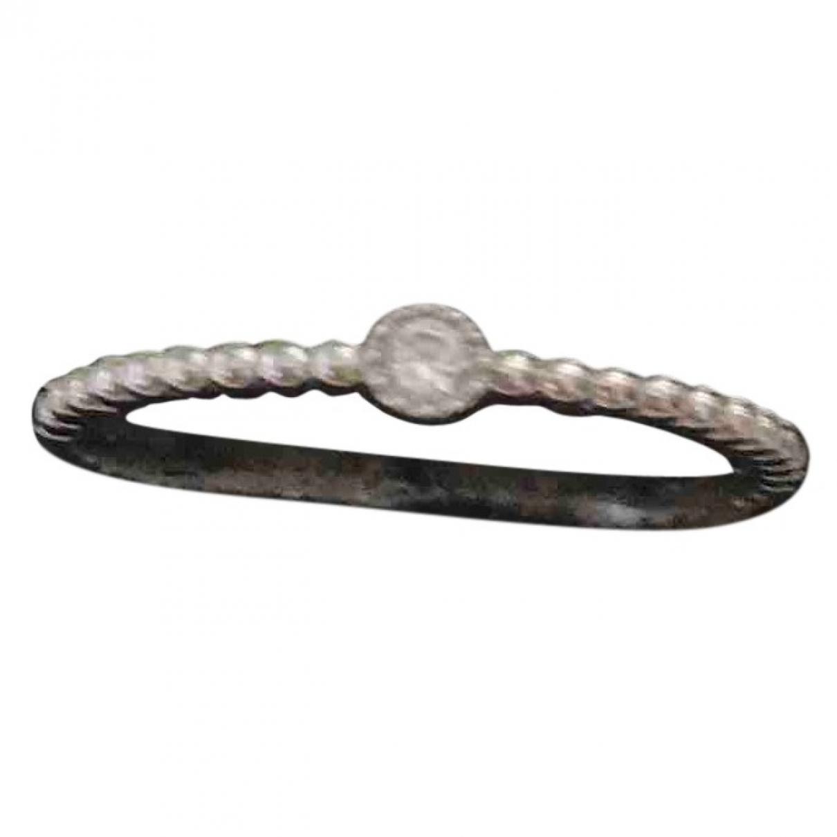 Yanes \N Silver White gold ring for Women 52 EU