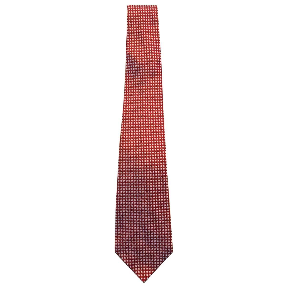 Yves Saint Laurent \N Red Silk Ties for Men \N