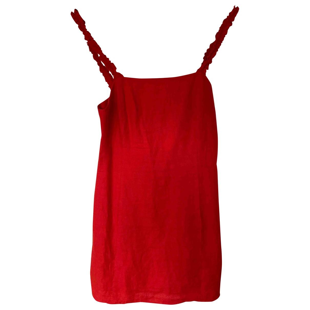 Mini vestido de Lino & Other Stories