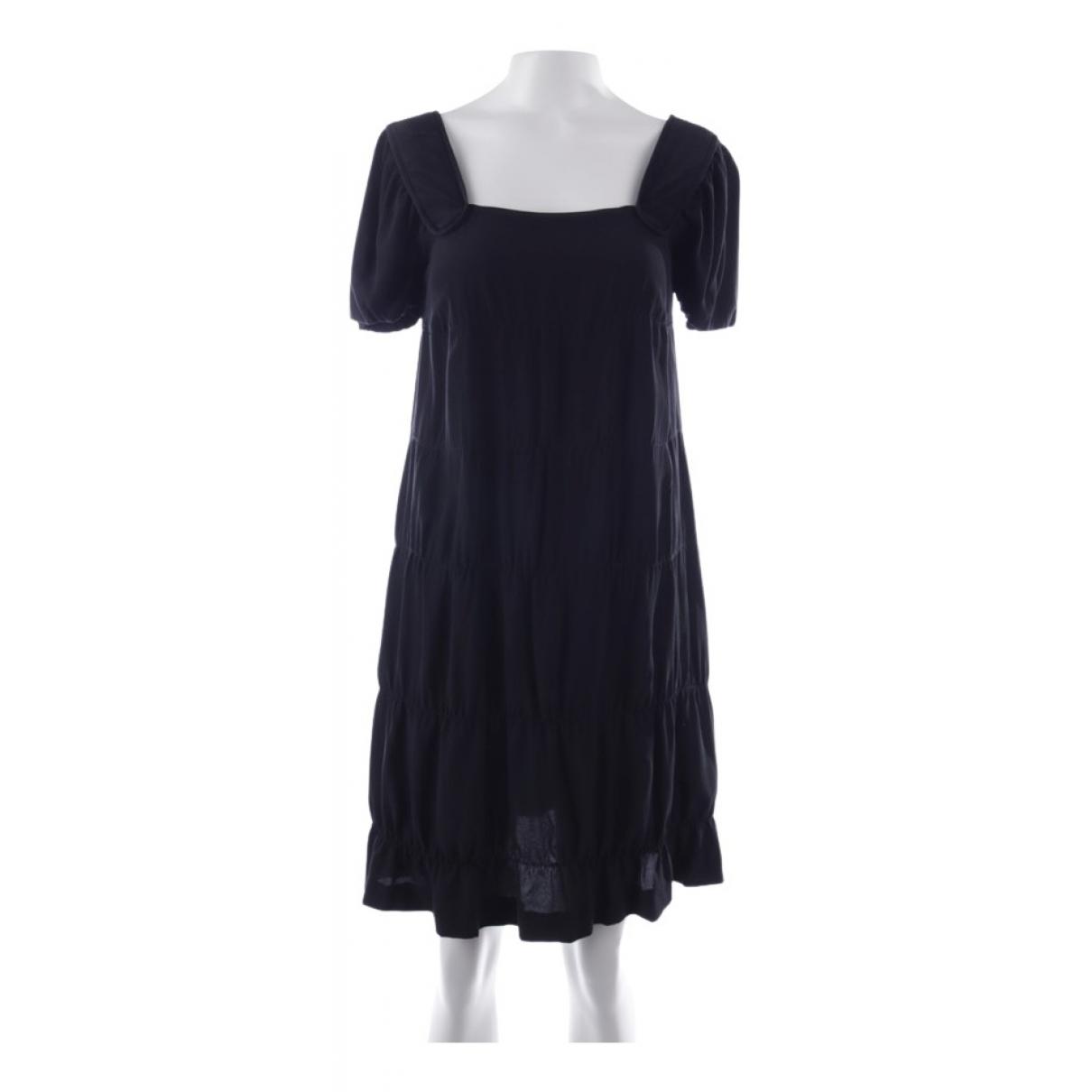Vestido de Seda Miu Miu