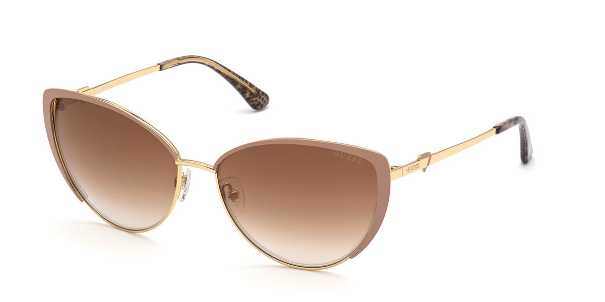 Guess GU 7744 57G Women's Sunglasses Brown Size 61