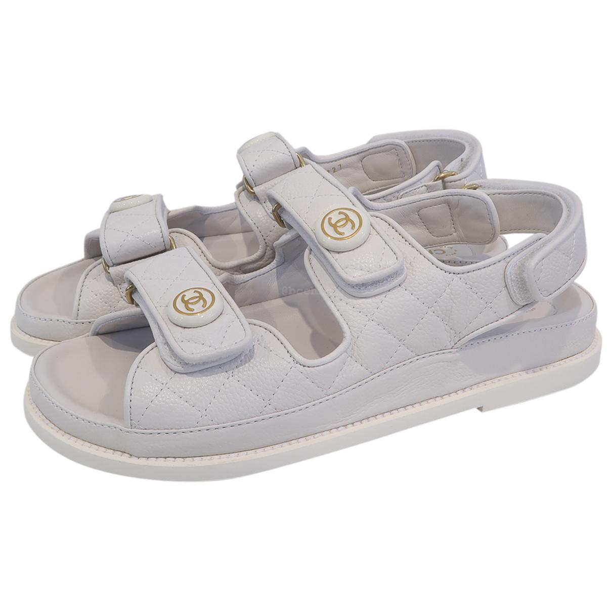 Sandalias Dad Sandals de Cuero Chanel