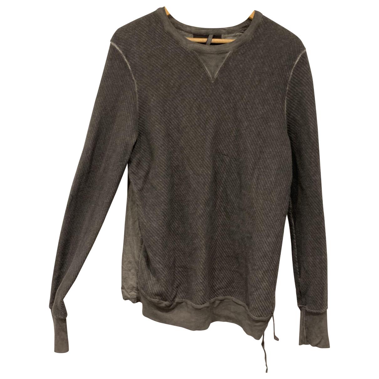 Damir Doma \N Pullover.Westen.Sweatshirts  in  Grau Baumwolle