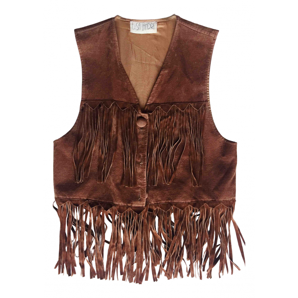 Non Signé / Unsigned \N Brown Knitwear for Women S International
