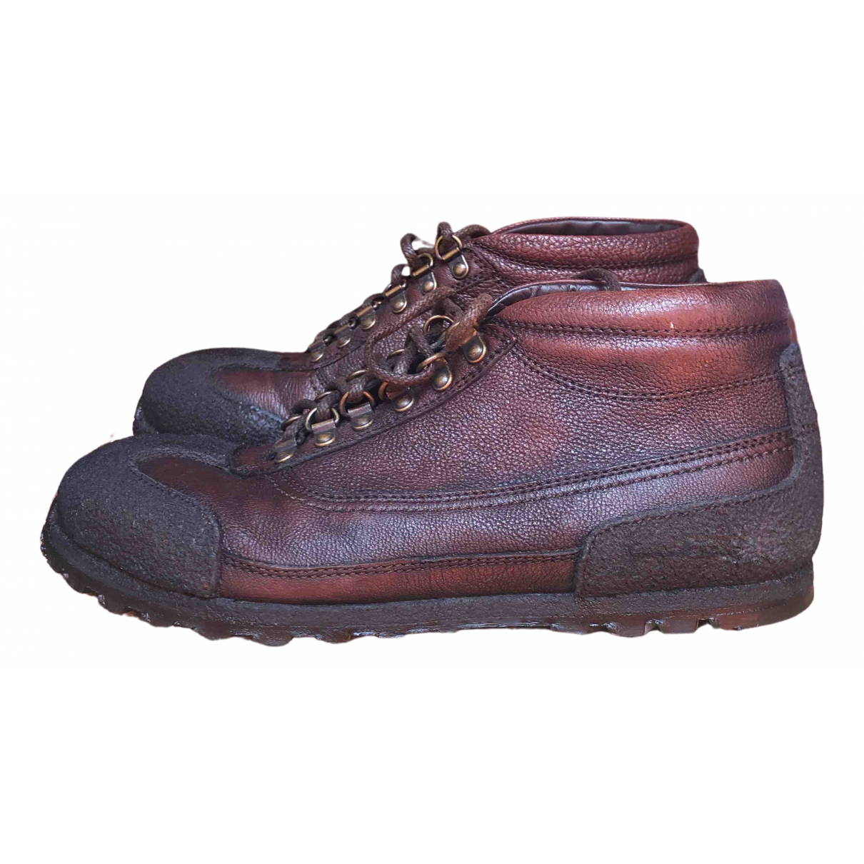 Dolce & Gabbana \N Brown Leather Lace ups for Men 42 IT