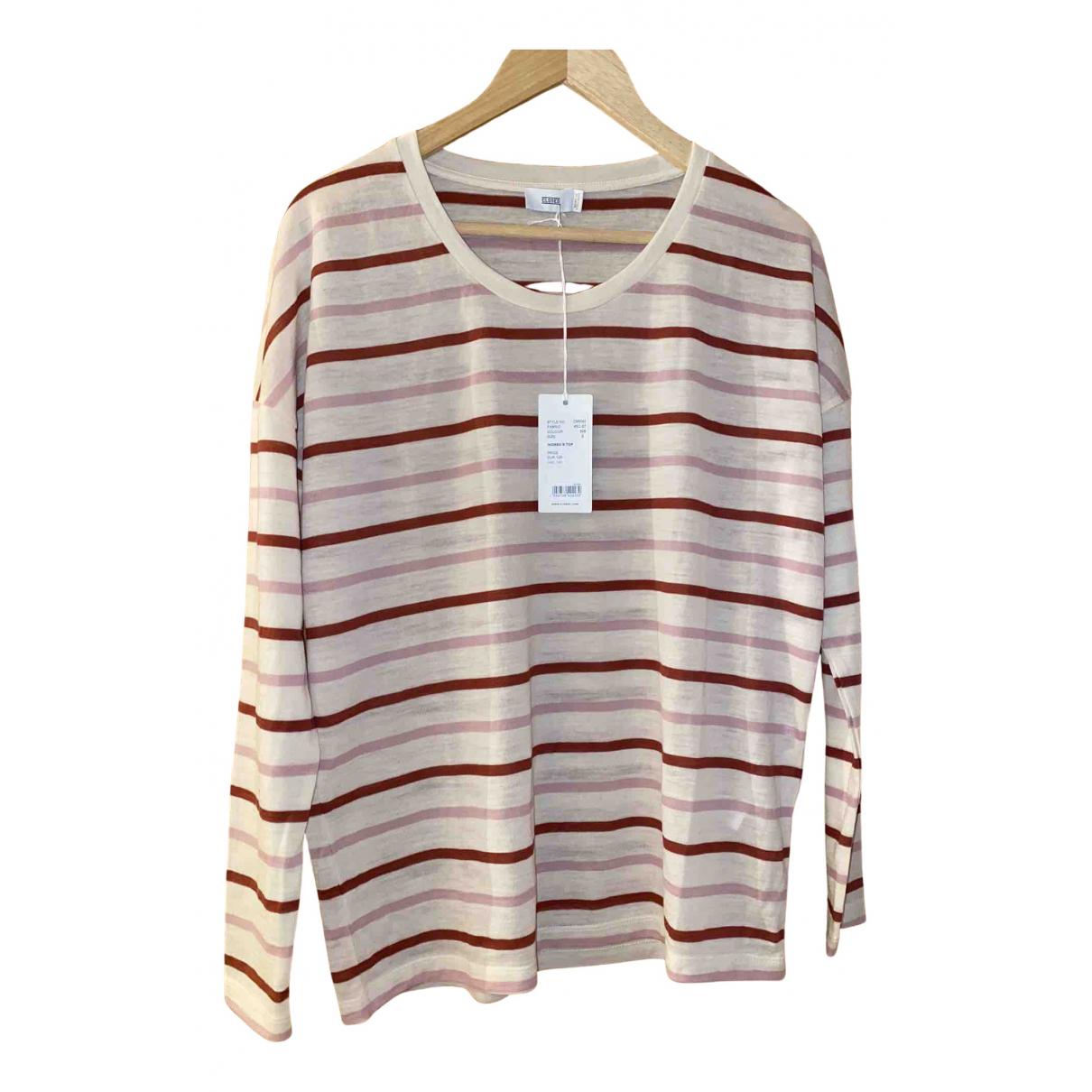 Closed - Top   pour femme en laine - multicolore