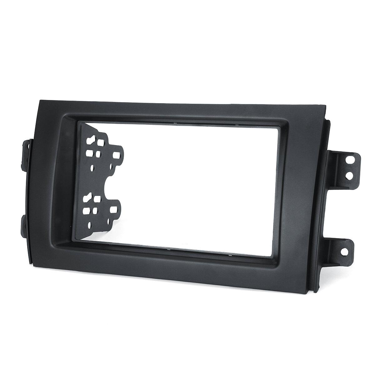 2Din Car Radio Stereo Fascia Trim Panel Plate Adapter For Suzuki/Fiat