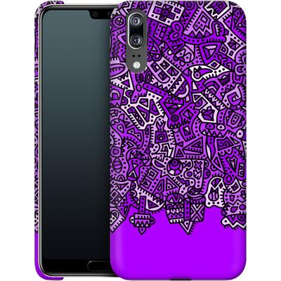 Huawei P20 Smartphone Huelle - Violet Black von Mattartiste
