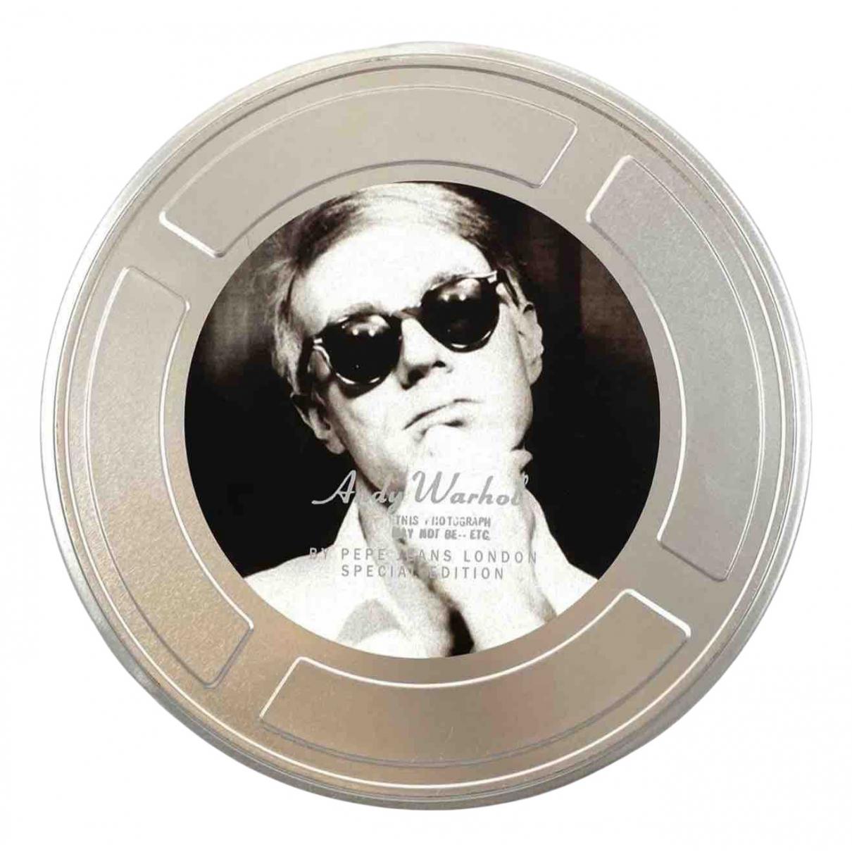 Andy Warhol - Objets & Deco   pour lifestyle en metal - argente