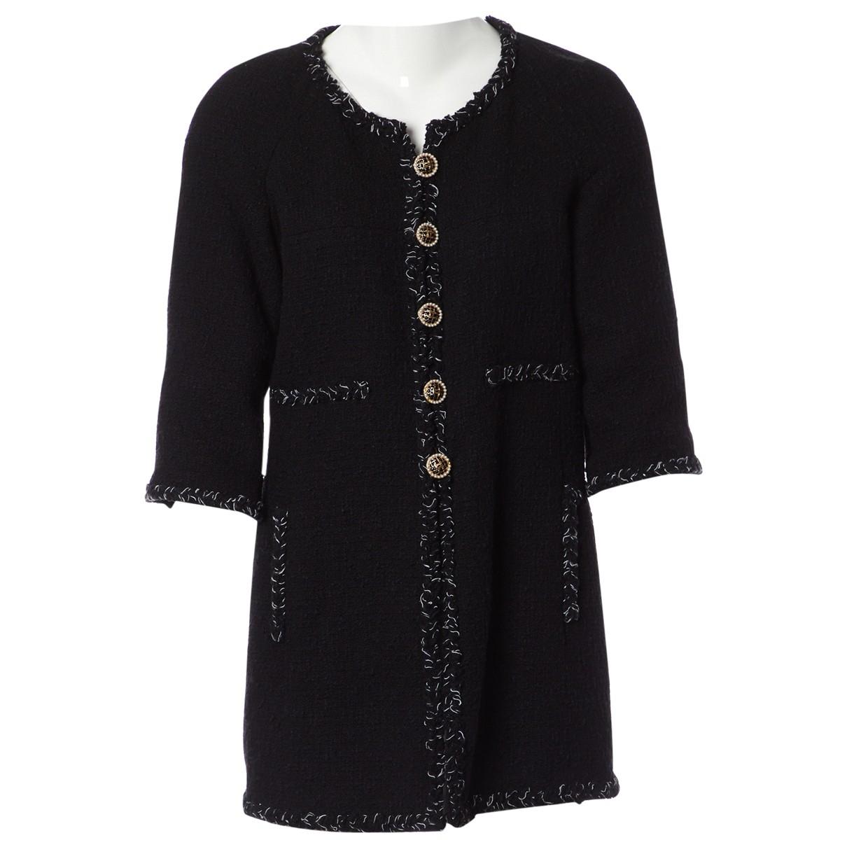 Chanel \N Black Cotton jacket for Women 40 FR