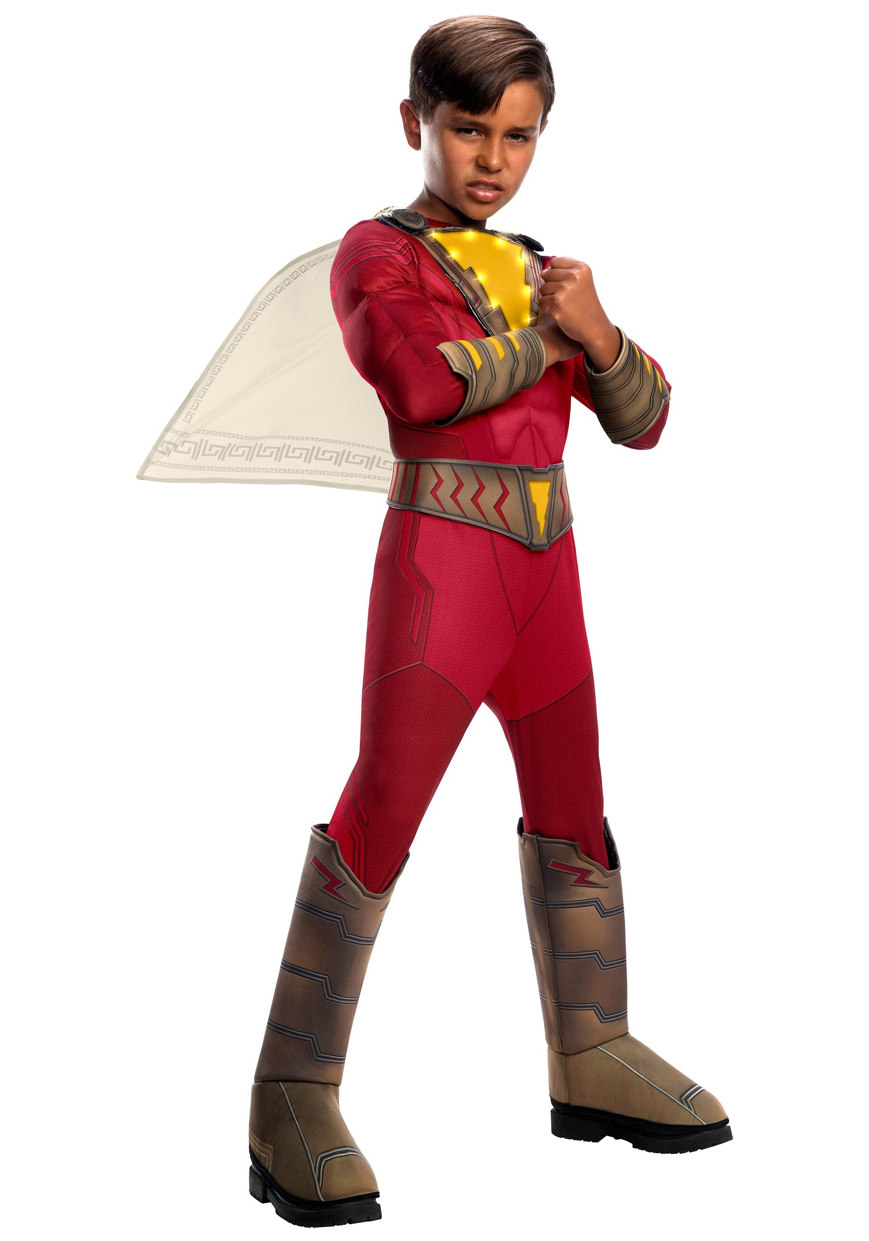Shazam! Child Light-Up Deluxe Costume