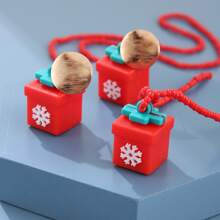 3pcs Christmas Present Decor Jewelry Set