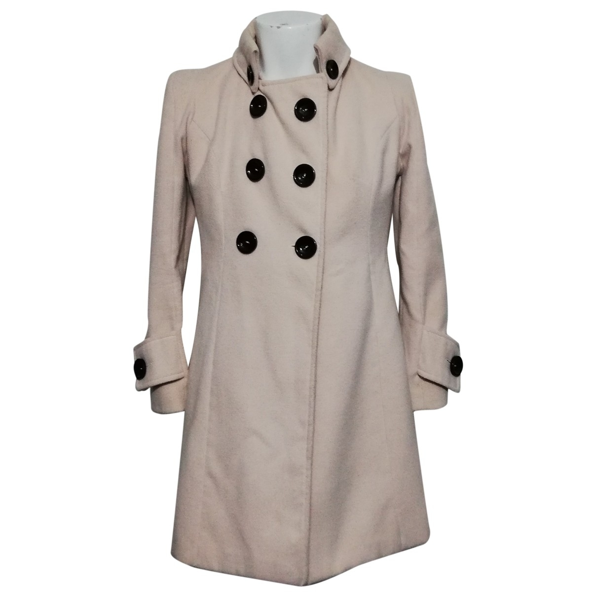 Non Signé / Unsigned \N Pink coat for Women 46 IT