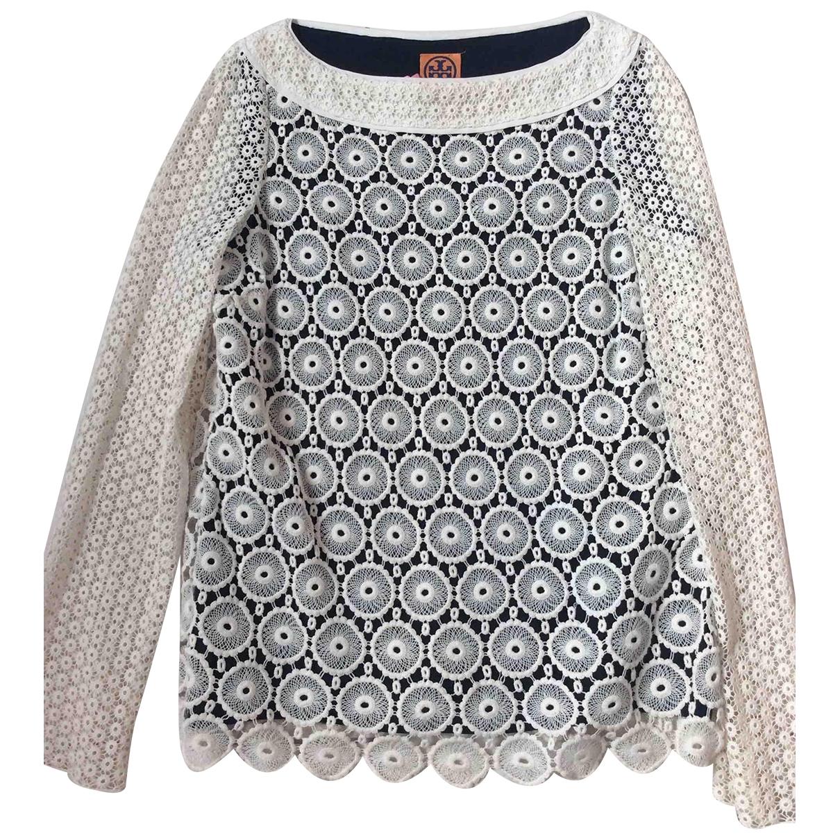 Tory Burch \N White Cotton Knitwear for Women 6 US