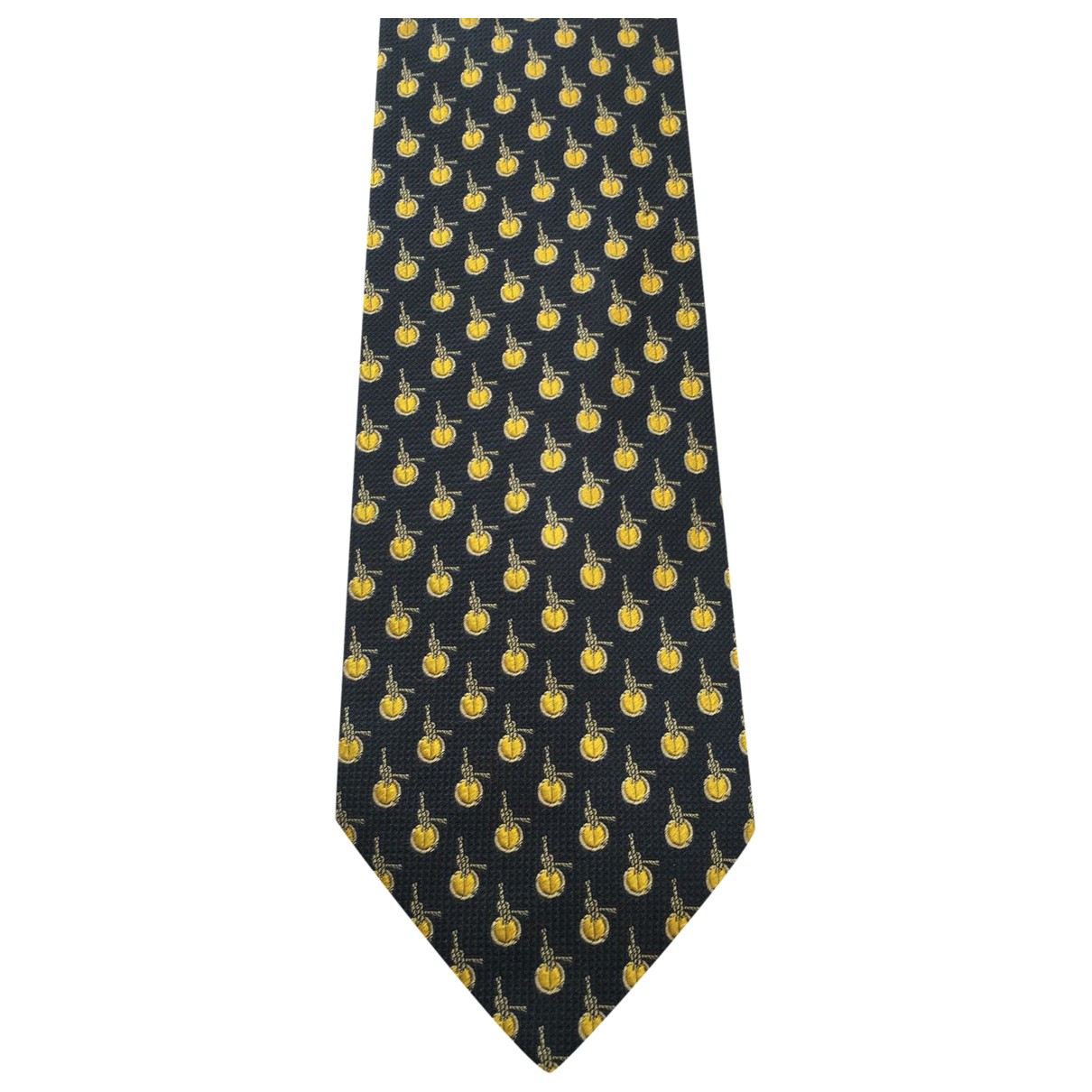 Givenchy \N Blue Silk Ties for Men \N
