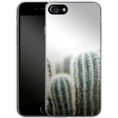 Apple iPhone 7 Silikon Handyhuelle - Cactus 1 von Mareike Bohmer