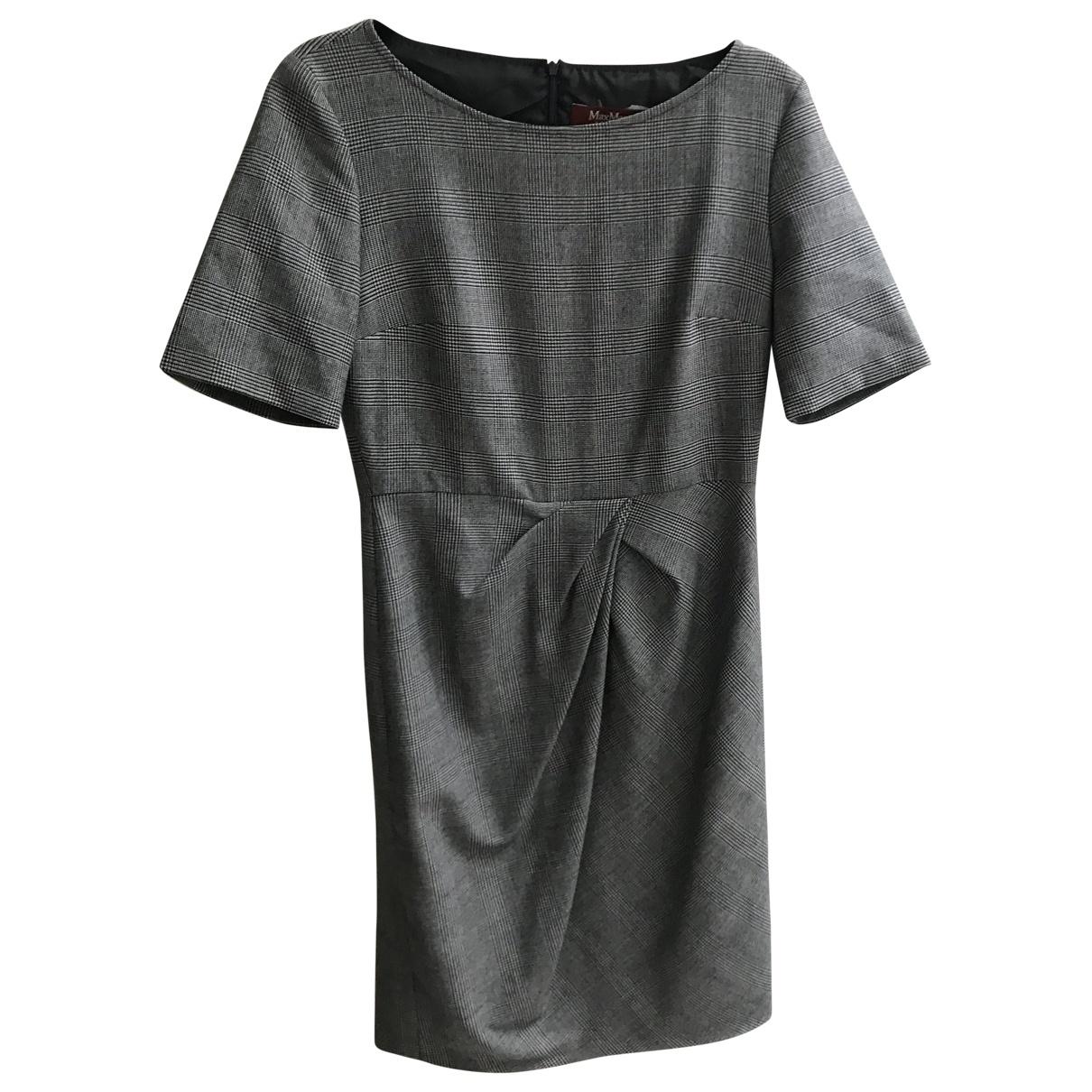 Max Mara Studio \N Black Wool dress for Women 38 FR