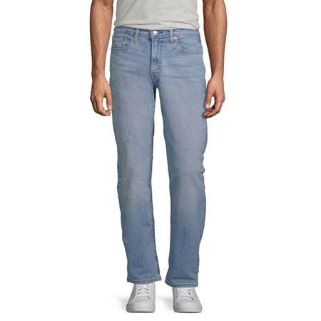Levi's Mens 514 Straight Fit Straight Leg Jean, 42 32, Blue