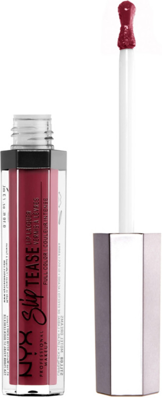 Slip Tease Lip Lacquer - Rosy Outlook (warm mahogany red)