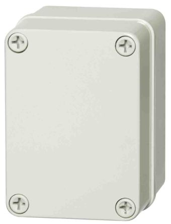 Fibox Light Grey ABS Enclosure, IP66, IP67, 110 x 80 x 65mm