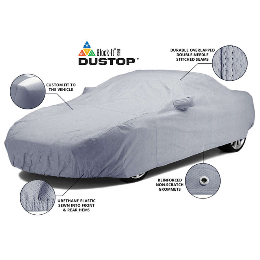 Covercraft C16205YS Dustop Custom Car Cover Gray Porsche