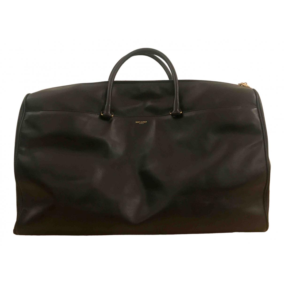 Saint Laurent N Black Leather bag for Men N