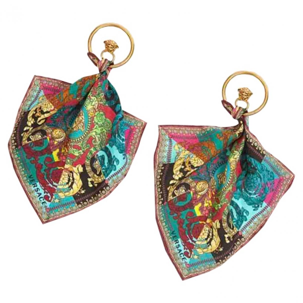 Versace Medusa Metal Earrings for Women \N