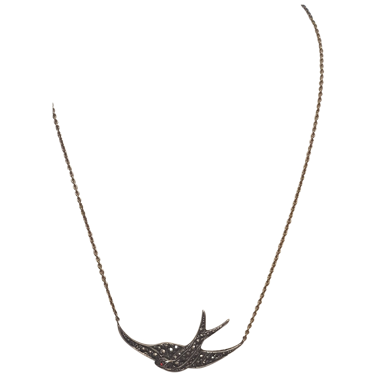Non Signe / Unsigned Motifs Animaliers Kette in  Gold Gelbgold