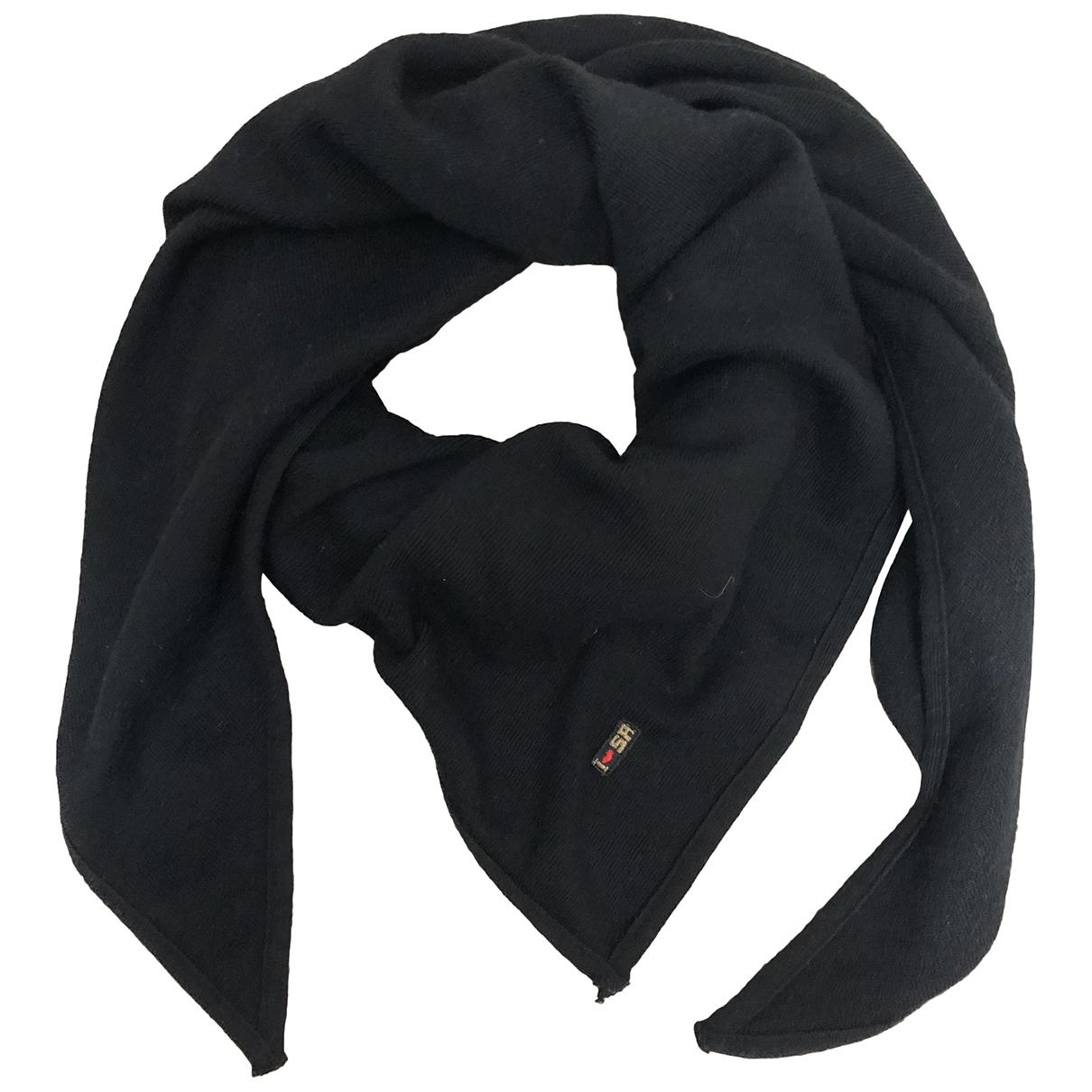 Sonia Rykiel \N Black Wool scarf for Women \N