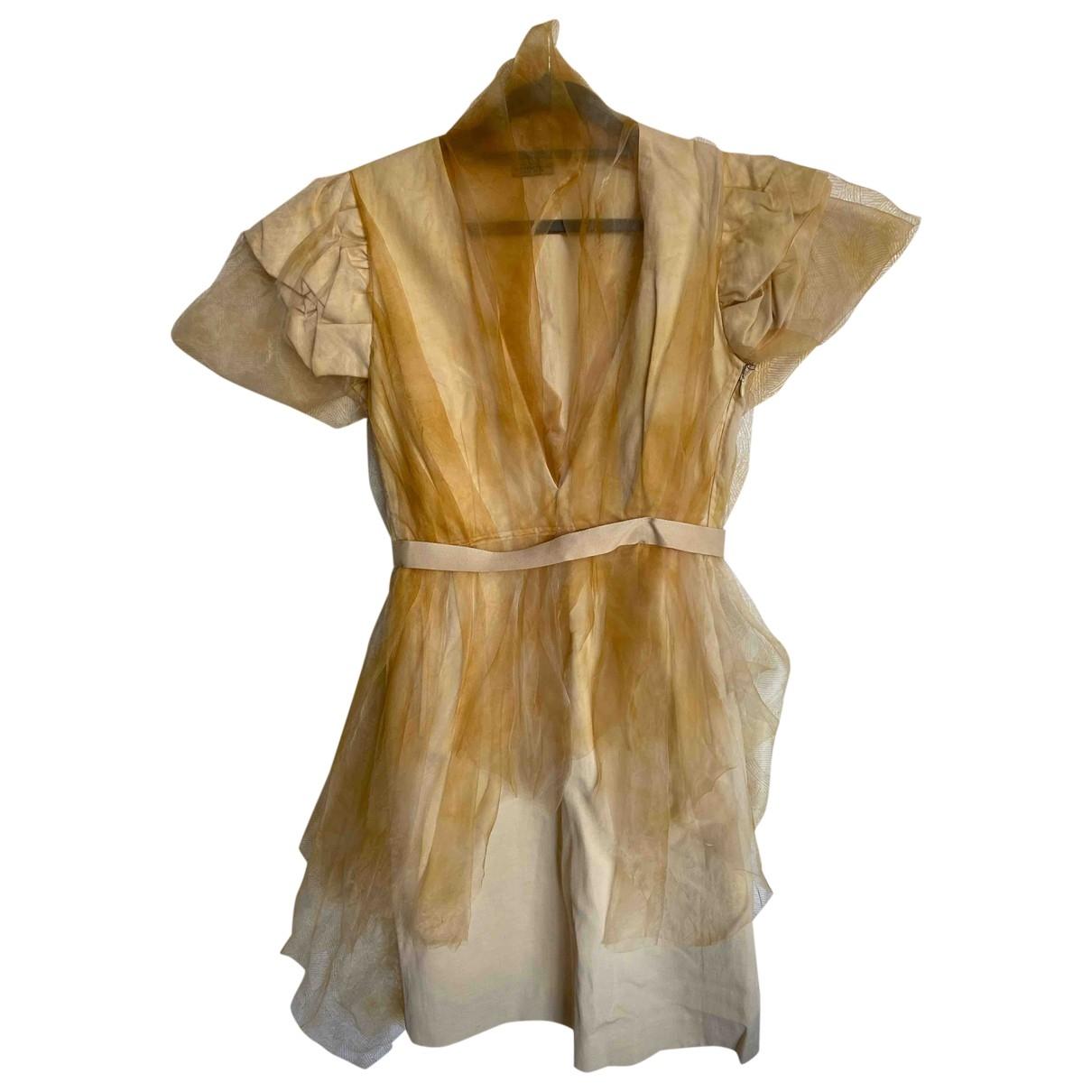 Mini vestido Bottega Veneta