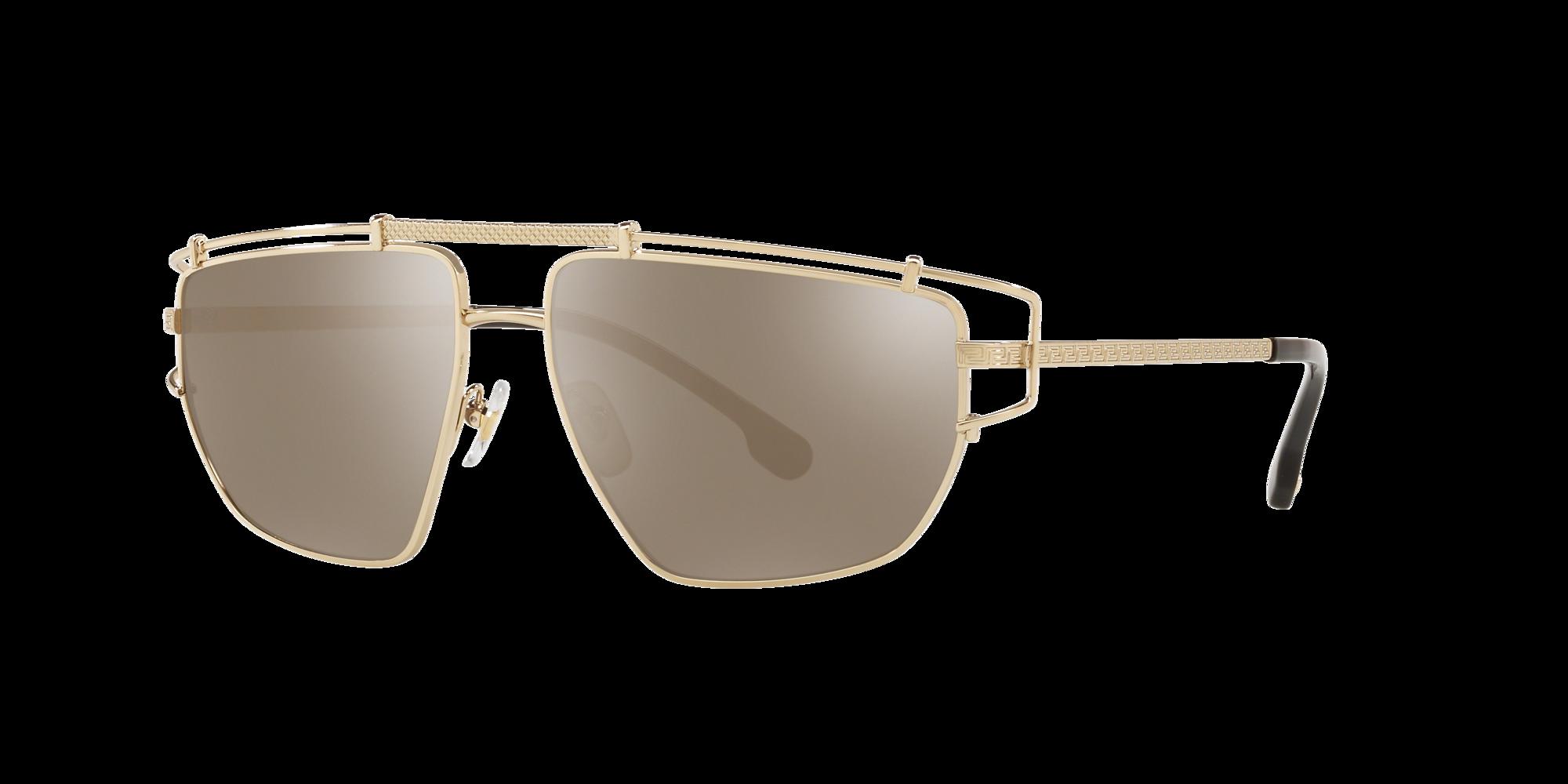 Versace Unisex  VE2202 -  Frame color: Gold, Lens color: Gold, Size 57-14/140