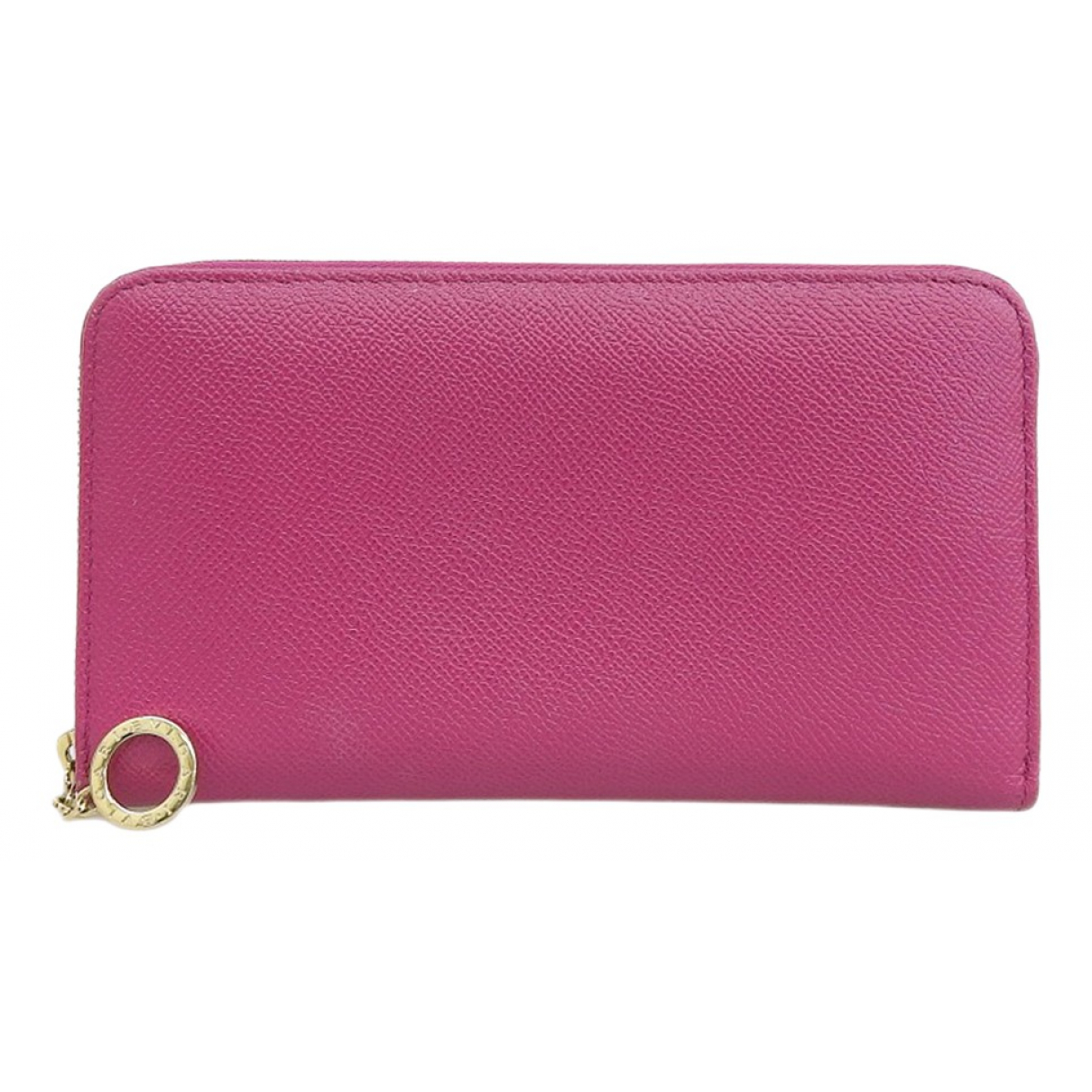 Bvlgari N Purple Leather wallet for Women N