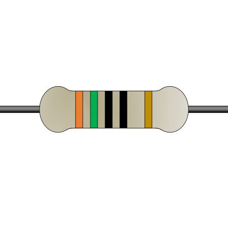 Yageo 150Ω Carbon Film Fixed Resistor 1/4W 5% CFR-25JT-52-150R (5000)